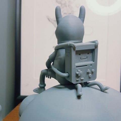 d.jpg Download free STL file Adventure Time Fan Art with secret storage • 3D printing template, GGR2