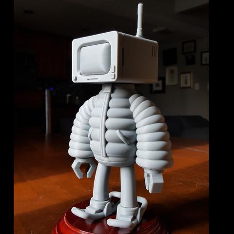 4.png Download STL file T.B (Thug Bot) • 3D printing model, GGR2
