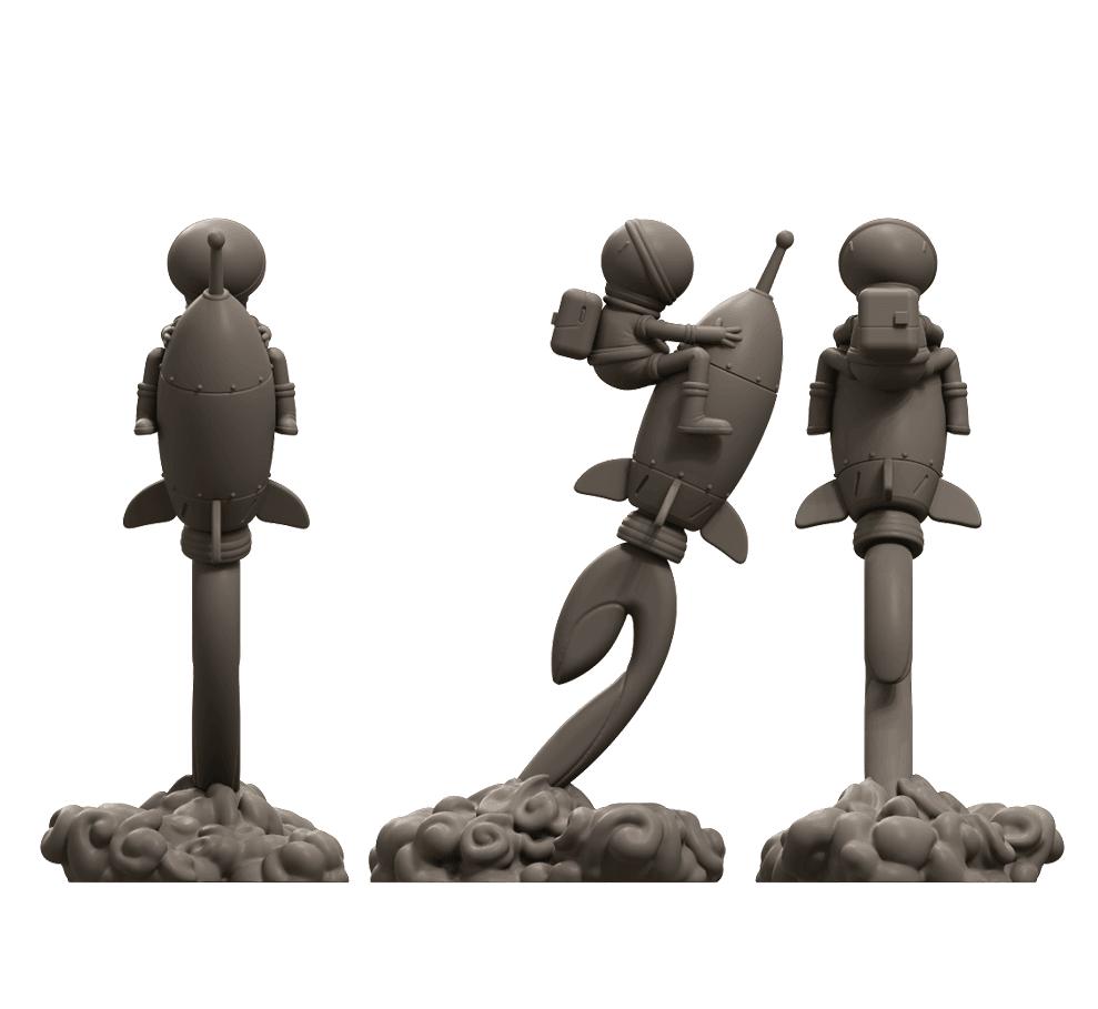 5.png Download free STL file Stratomaker Mascot • 3D printing template, GGR2