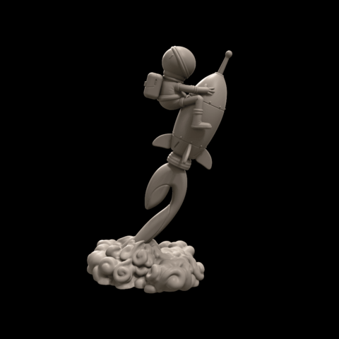 3.png Download free STL file Stratomaker Mascot • 3D printing template, GGR2