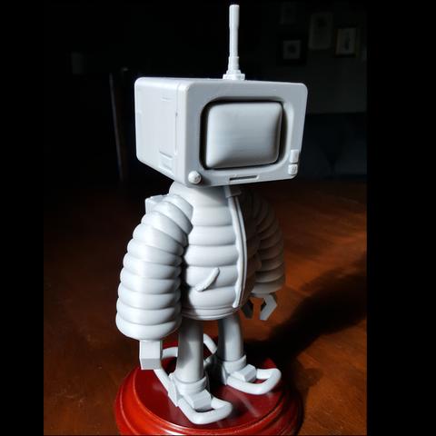 1.png Download STL file T.B (Thug Bot) • 3D printing model, GGR2