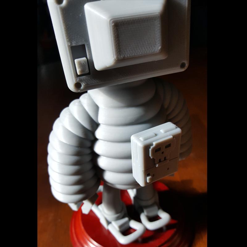 7.png Download STL file T.B (Thug Bot) • 3D printing model, GGR2
