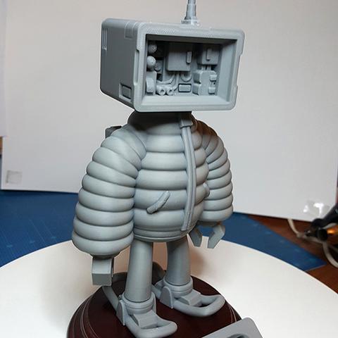 2018011.png Download STL file T.B (Thug Bot) • 3D printing model, GGR2