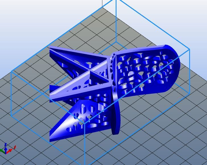 WASP for Voronoi Chair Slicer.JPG Download STL file #3DSPIRIT Voronoi Chair • 3D printable design, IanFabStudio