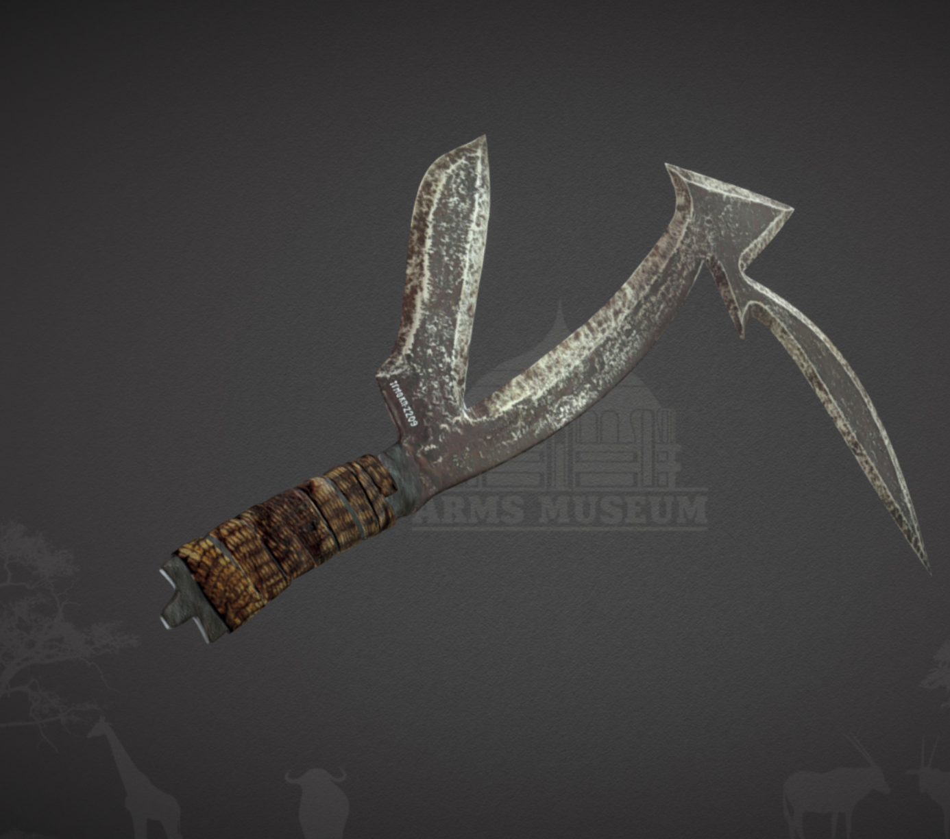 Capture d'écran 2017-11-24 à 17.16.56.png Download free OBJ file Pinga Throwing Knife • 3D printing model, ArmsMuseum