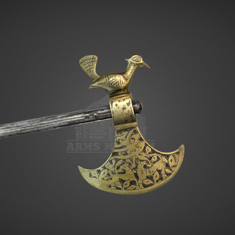 Download free 3D printing templates Decorative Battle Axe, ArmsMuseum