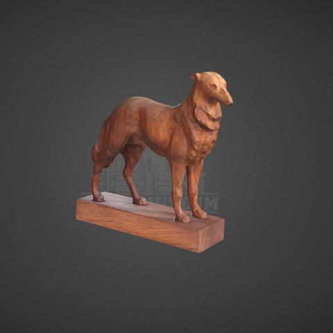 Capture d'écran 2017-11-24 à 17.00.58.png Download free STL file Sculpture of a Dog • 3D print object, ArmsMuseum