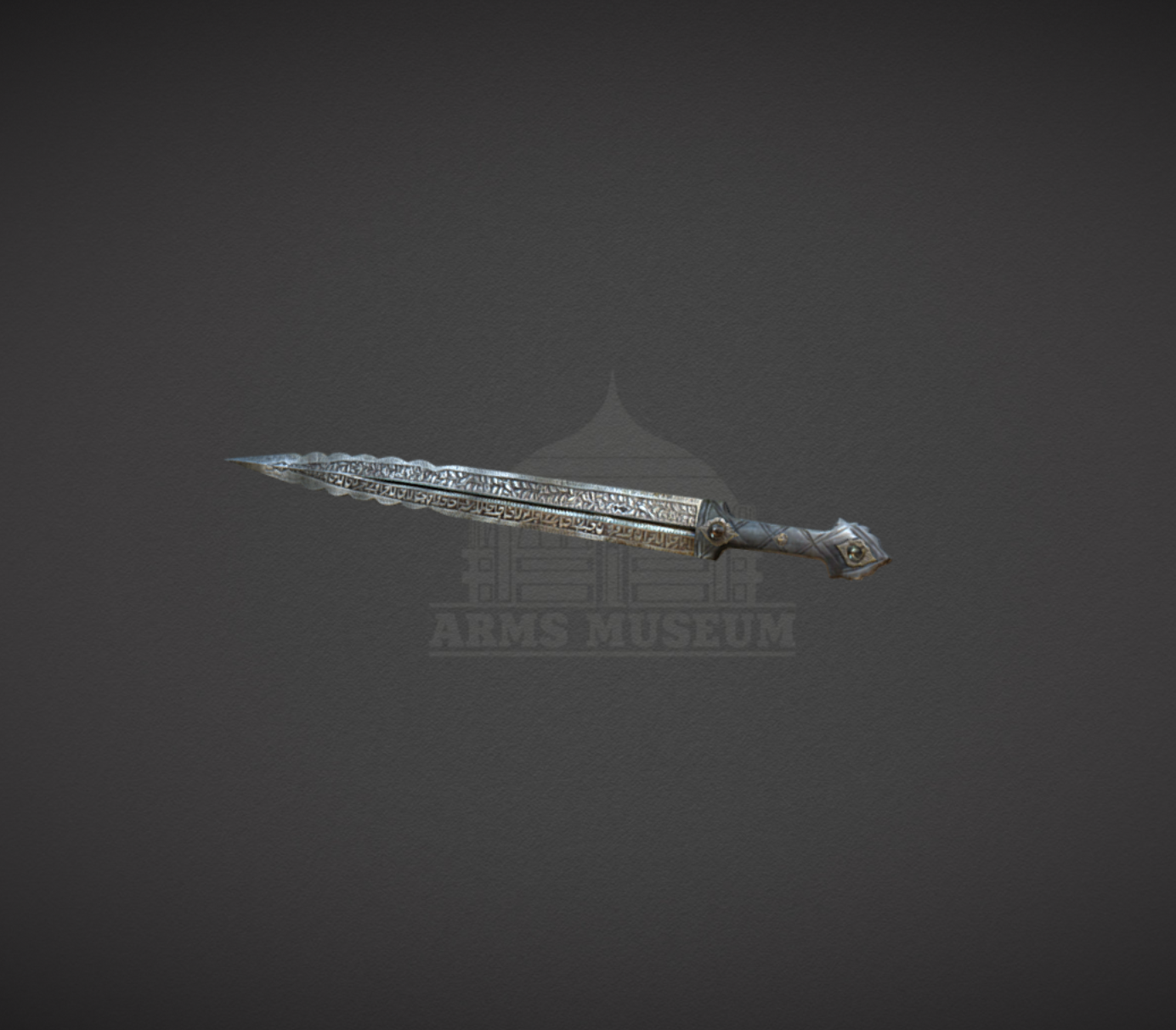 "Capture d'écran 2017-11-24 à 17.27.13.png Download free OBJ file ""Kama"" Dagger • Model to 3D print, ArmsMuseum"