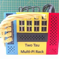 Télécharger fichier SCAD gratuit Rack multi-pi à deux tau • Design pour imprimante 3D, kevfquinn