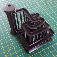 early-print-1.jpg Download free SCAD file Marble Run • 3D printer object, kevfquinn