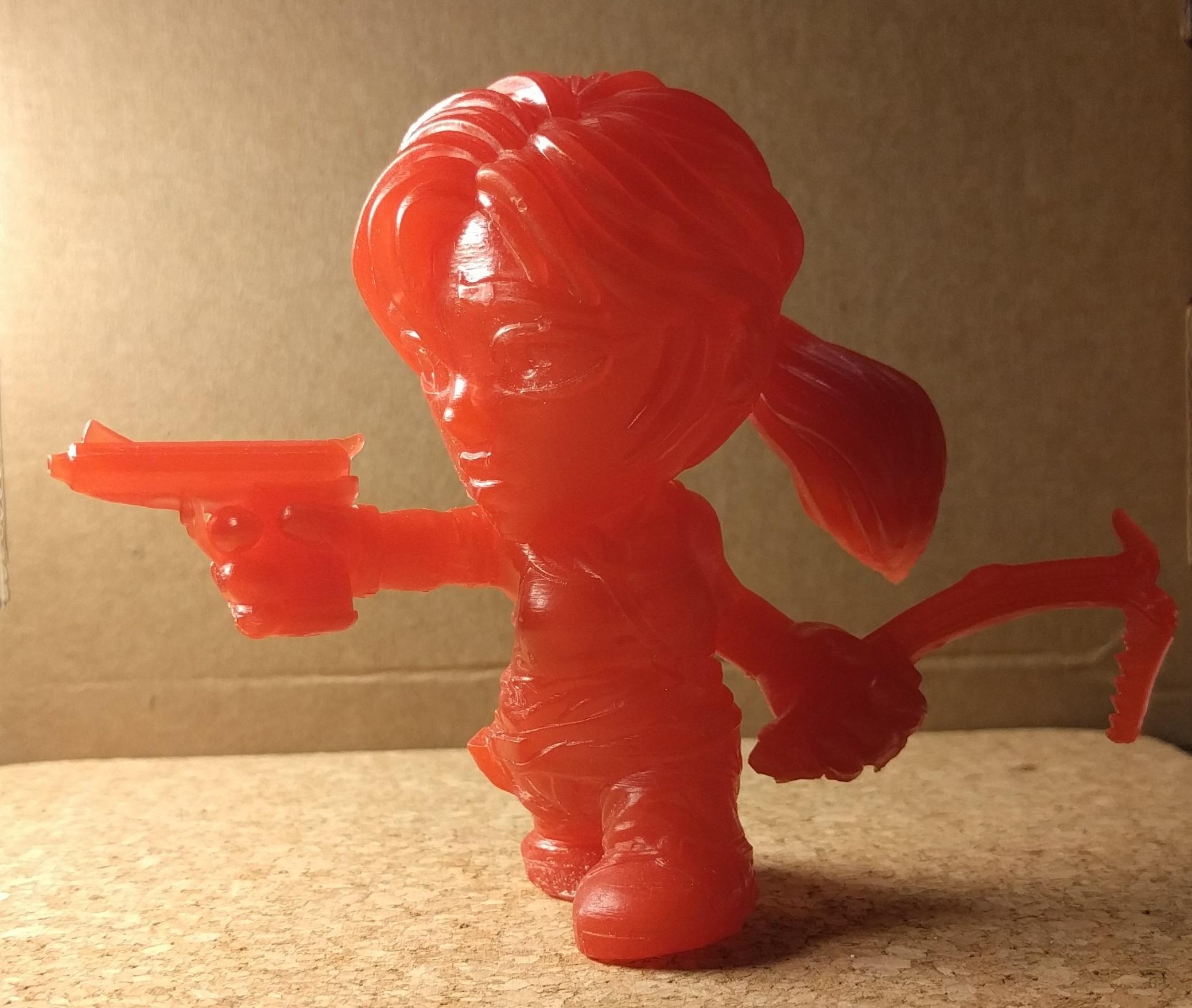 TLCunpainted1.jpg Télécharger fichier STL gratuit Figurine Lara Croft Toon - creux de la multitude • Objet imprimable en 3D, kevfquinn