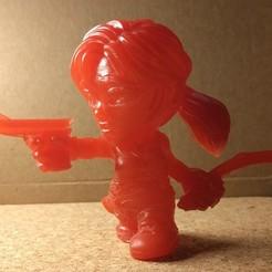 Télécharger fichier STL gratuit Figurine Lara Croft Toon - creux de la multitude • Objet imprimable en 3D, kevfquinn