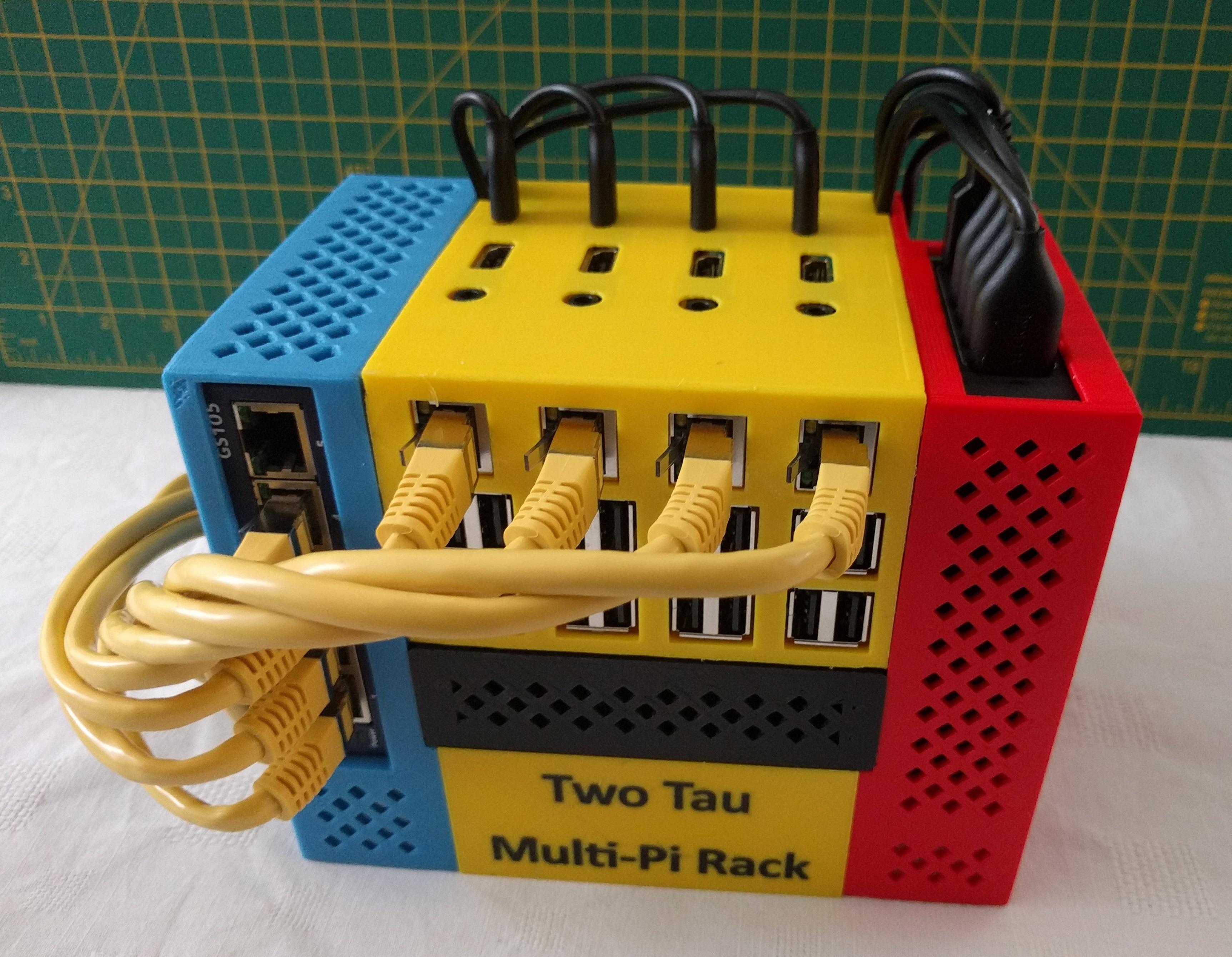 assembled-top.jpg Télécharger fichier SCAD gratuit Rack multi-pi à deux tau • Design pour imprimante 3D, kevfquinn