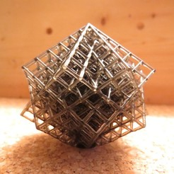bigtl.JPG Download free SCAD file Torture Lattice Cube • Template to 3D print, kevfquinn
