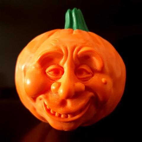 3D printer files Pumpkin Sad&Happy , iradj3d