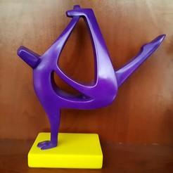 3d printer model Break dancer, iradj3d