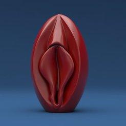 Objeto 3D Coño, iradj3d