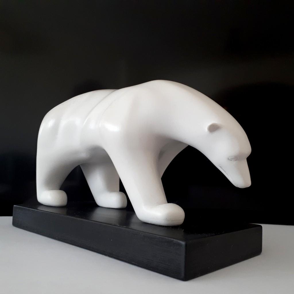 20180326_150233.jpg Download STL file Polar bear • 3D printing template, iradj3d