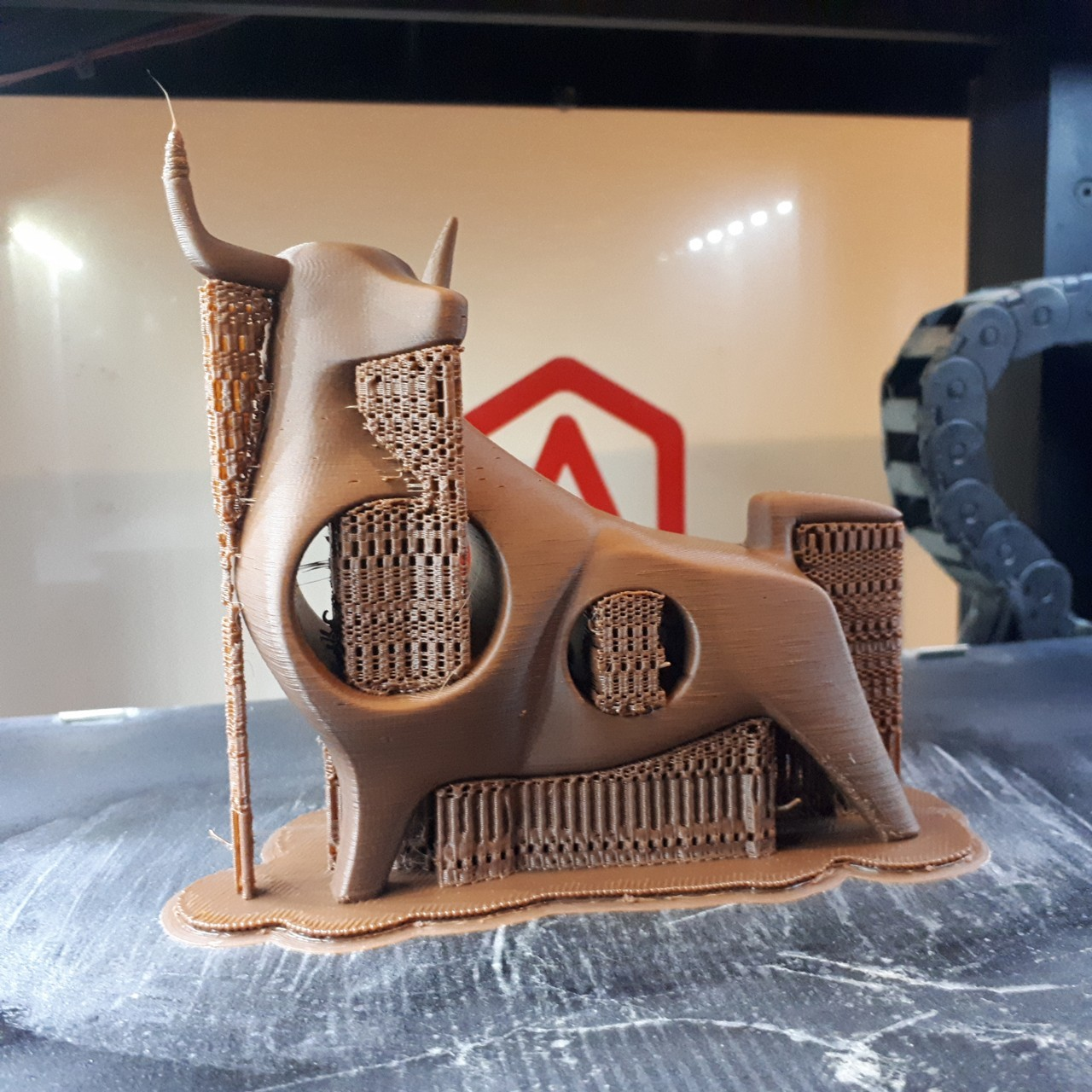 20180307_011637.jpg Download STL file Bull • Object to 3D print, iradj3d