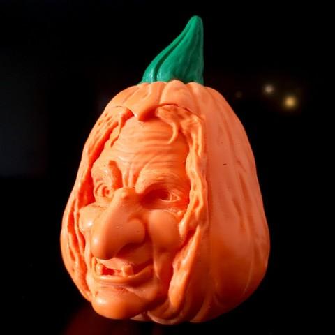 20181014_093316.jpg Download STL file Pumpkin Witch • 3D printable model, iradj3d