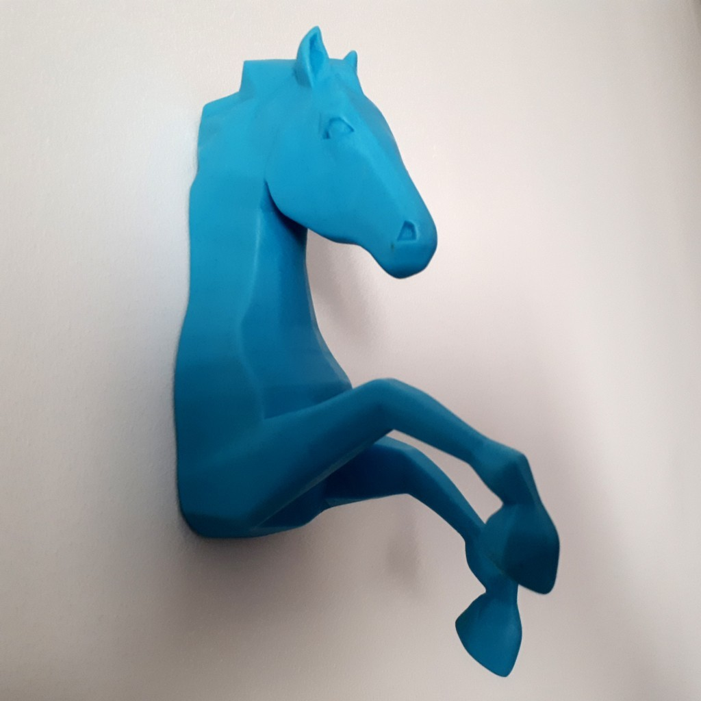 20180426_160152.jpg Download STL file Horse Wall • 3D print design, iradj3d