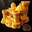 Free 3D printer model GraySkull Castel, iradj3d