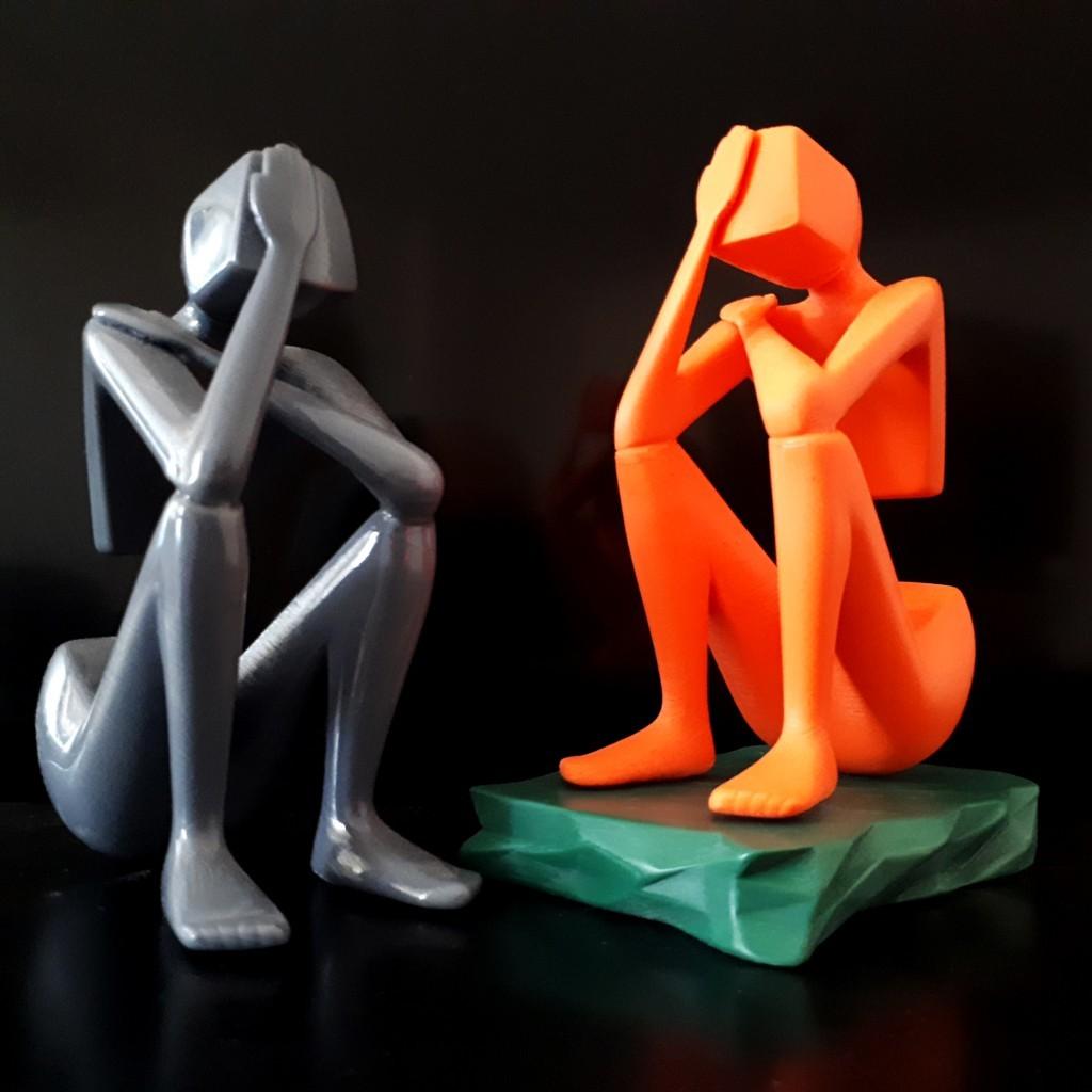 20180329_123813.jpg Download STL file Thinker • 3D print design, iradj3d