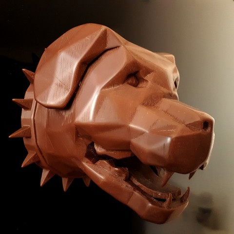 Download 3D printer designs Rottweiler Wall, iradj3d