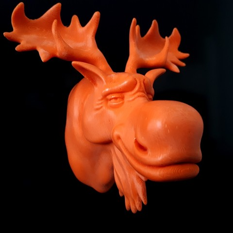 stl files Moose, iradj3d
