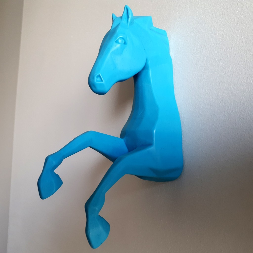 20180426_155722.jpg Download STL file Horse Wall • 3D print design, iradj3d