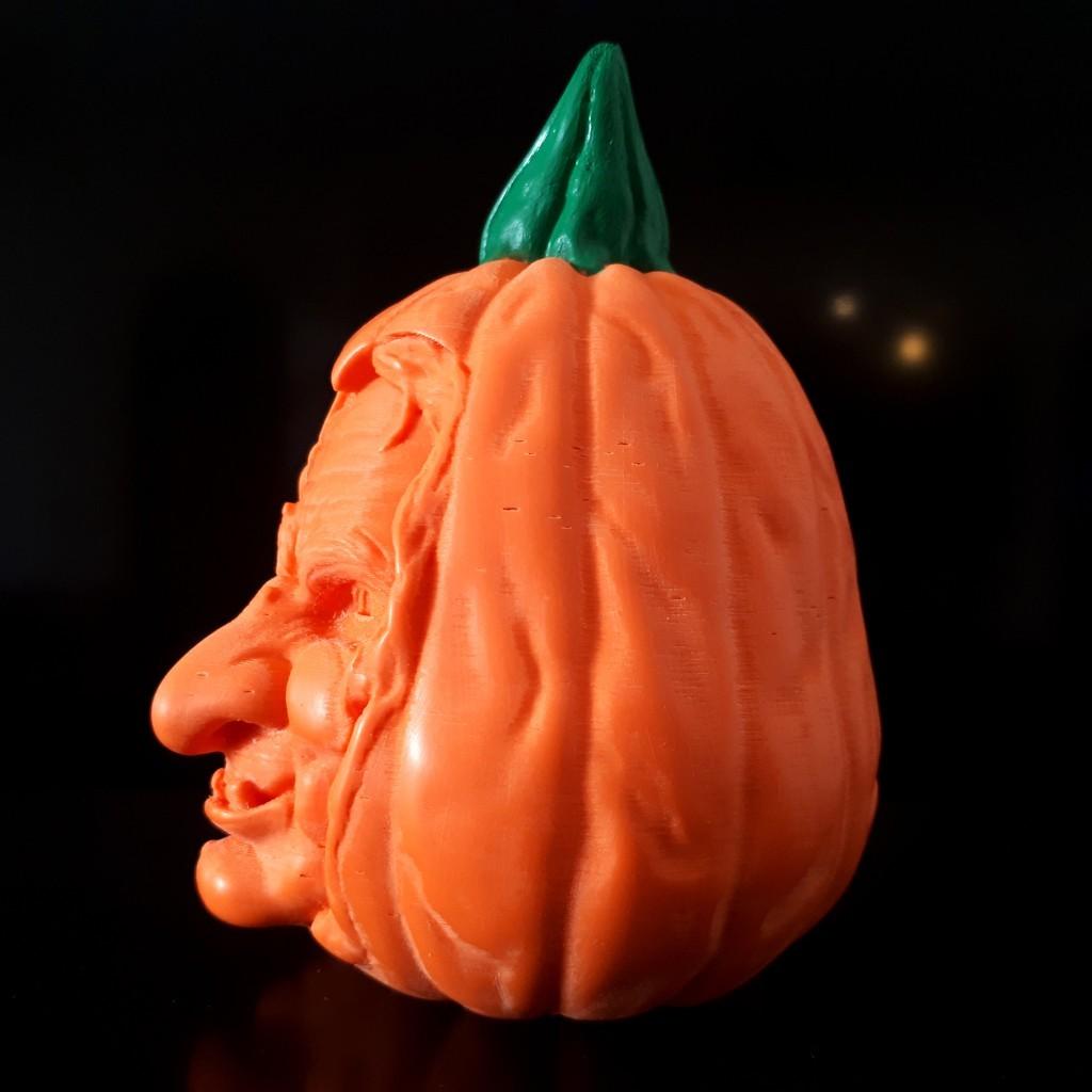 20181014_093247.jpg Download STL file Pumpkin Witch • 3D printable model, iradj3d