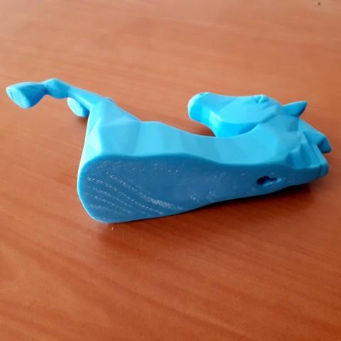 20180426_154629.jpg Download STL file Horse Wall • 3D print design, iradj3d