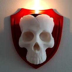 Archivos 3D Vela Cráneo, iradj3d