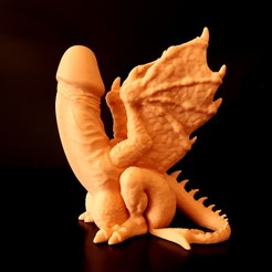 Download STL file Dragon Dick V4 • Model to 3D print, iradj3d
