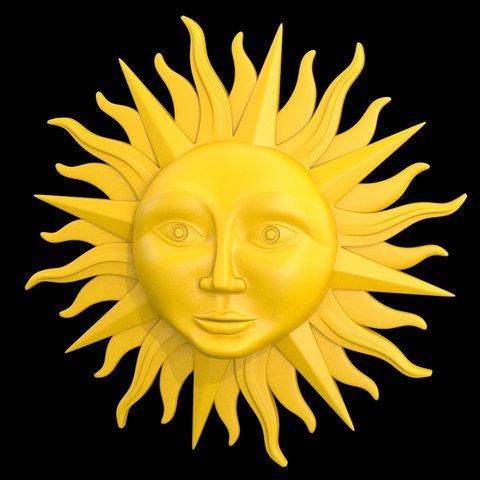 sun_02.jpg Download STL file sun • 3D printing model, iradj3d