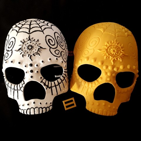 3D printing model Halloween Mask, iradj3d