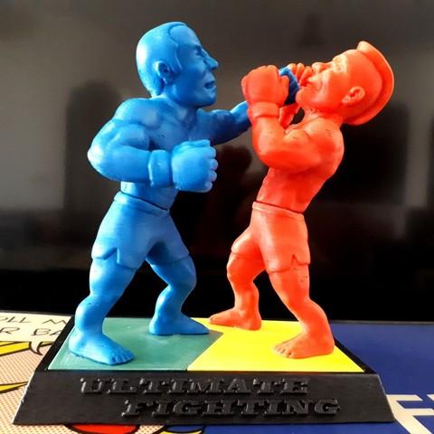 3D print model Ultimate Fighting, iradj3d