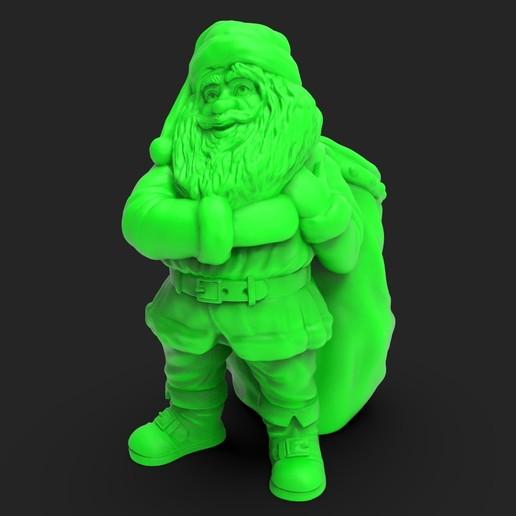 Download STL file Santa Claus container V3, iradj3d
