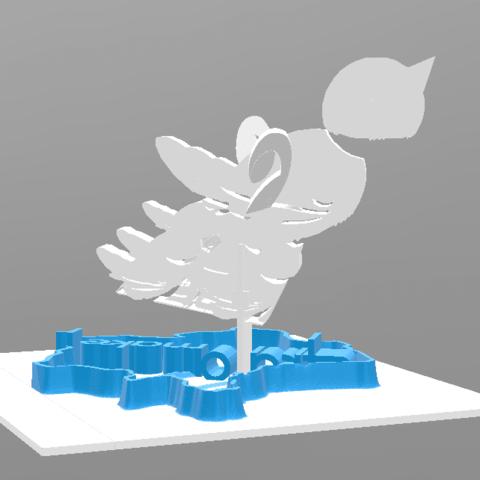 fichier 3d gratuit Mascotte STRATO pour Stratomaker, Jojo_bricole