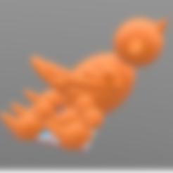 fichier stl gratuit Maquette Stratomaker Imprimante en 3D avec mascotte STRATO, Jojo_bricole