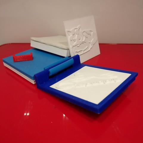 Mini Presse  Stratomaker ouverte.jpg Download STL file Mini Press #STRATOMAKER • 3D printer design, Jojo_bricole
