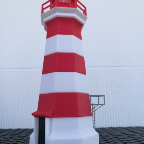 Fichier 3D gratuit Phare de l'île Brier, Rodrim