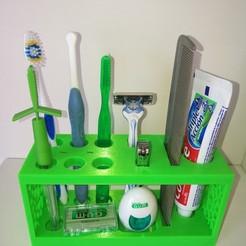 diseños 3d gratis Organizador de baño, Rodrim