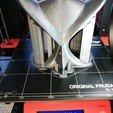 Free 3D printer designs Owl mask for a Buo Speaker, Rodrim