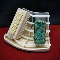 Télécharger modèle 3D gratuit Porte-savon avec place pour la brosse, bAD_kLOPFER