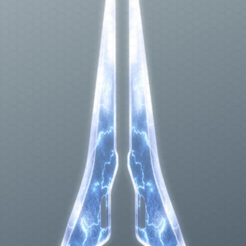 Free STL file halo energy sword, SpartaProd