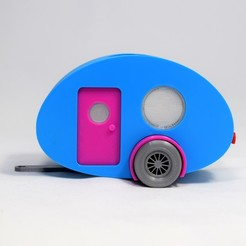 3D printer file CAMPERQUARIUM, Smartmaterials3d