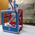 Download free STL file Model Stratomaker 3D Printer with Mascot STRATO • Design to 3D print, Kal4433
