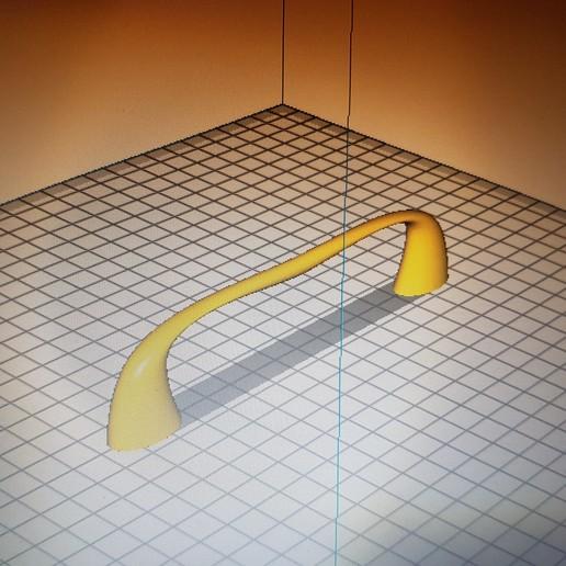 Download 3D printer designs Soft grip handle centre-to-centre distance 128, flo2350