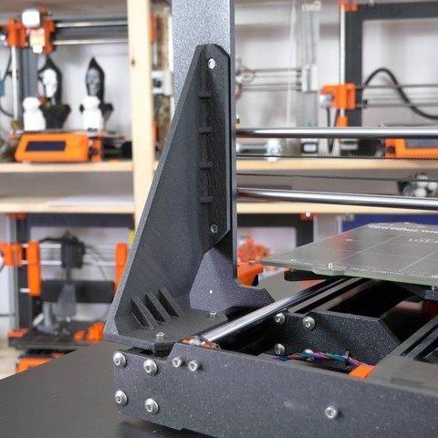 Free STL files PSU replacing Frame brace for Original Prusa i3 MK3, Mikolas3D